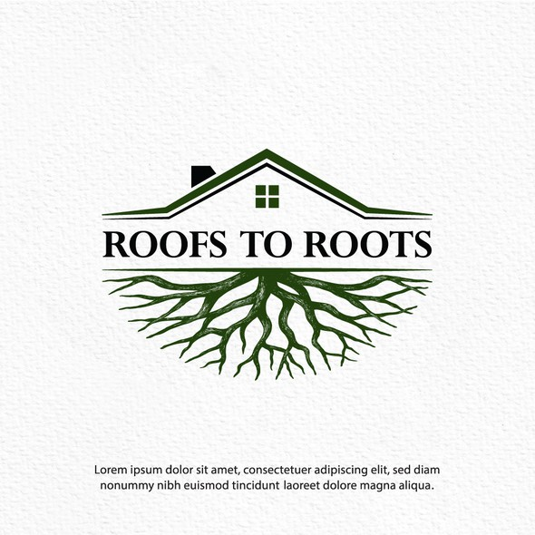 Home design with the title 'Roofs to Roots'