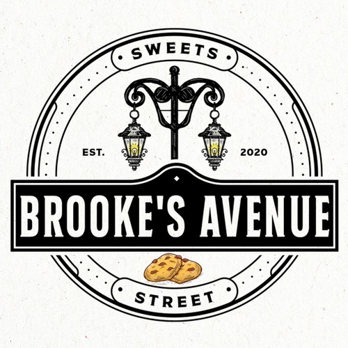 Delicious logo with the title 'Brooke's Avenue Sweets Street'