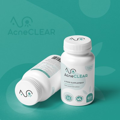 Logo&Label Design for AcneCLEAR