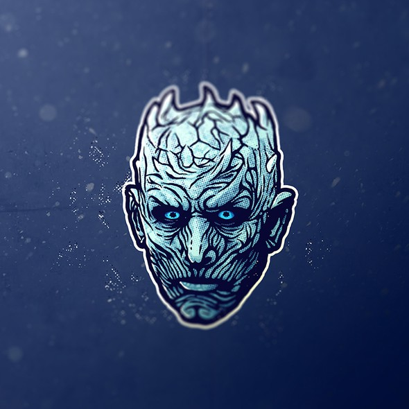 Winter design with the title 'Night King'