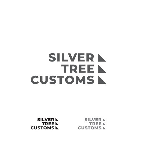 Branch brand with the title 'Silver Tree Customs'