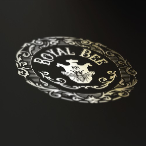 Royal logo with the title 'Royal Bee'