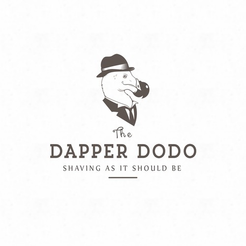 Trend logo with the title 'the dapper dodo'