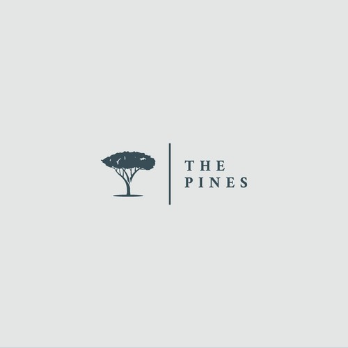 Fir tree logo with the title 'Logo for home community '