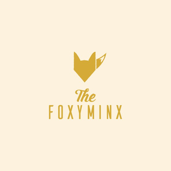 Foxy logo with the title 'The Foxy Minx'