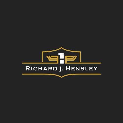 Name logo with the title 'Richard J Hensley'