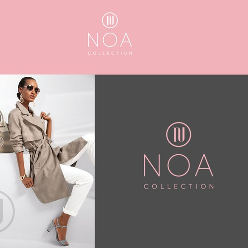 Chic logo with the title 'NOA collection'
