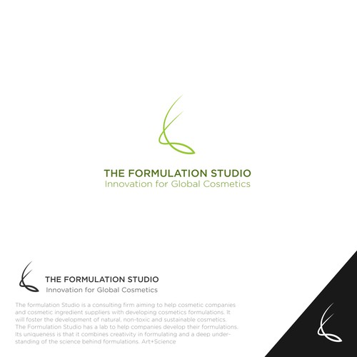 Formula logo with the title 'The Formulation Studio'