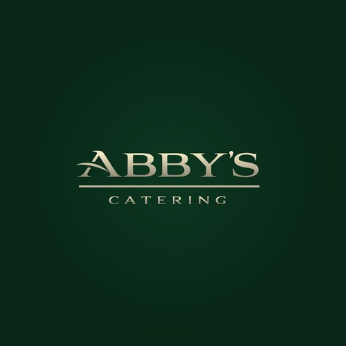 Catering logo with the title 'Abby's Catering'