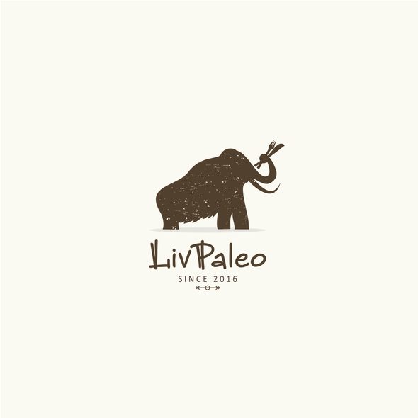 Foodie design with the title 'Paleo experience design'