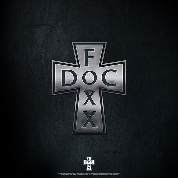 Cross logo with the title 'DocFoxx'