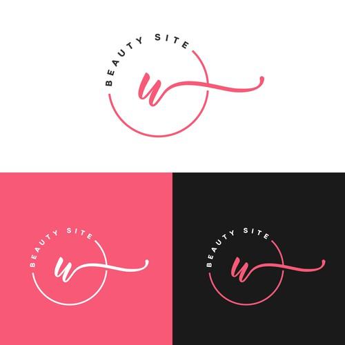 U logo with the title 'Beauty Logo'