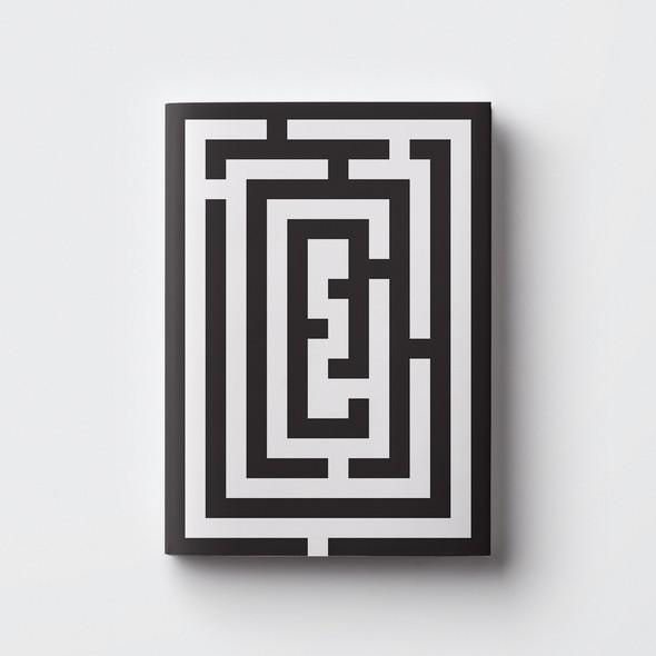 Curiosity design with the title 'Maze Book'