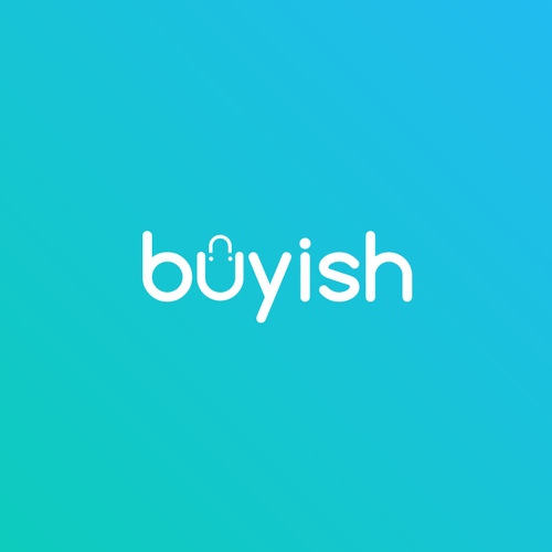 Shopping logo with the title 'Buyish'