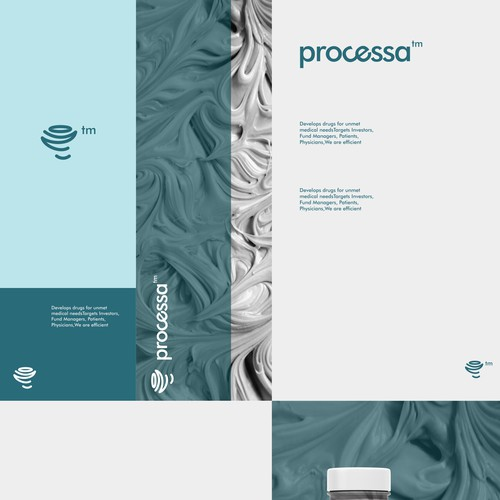 Amazing brand with the title 'processa'