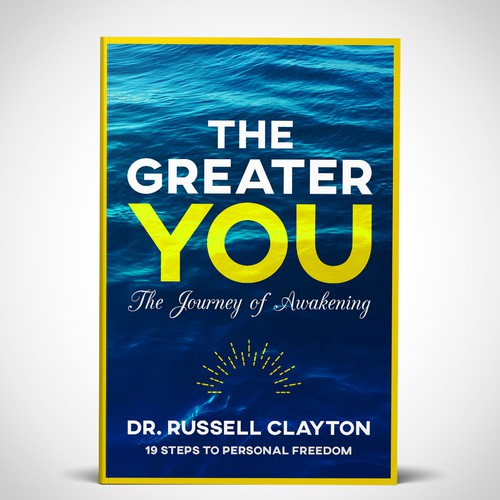 Yellow book cover with the title 'The Greater You'