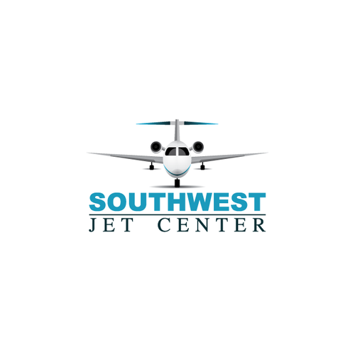 Airport design with the title 'Logo design for Southwest Jet Center'
