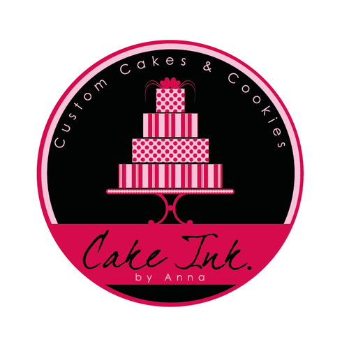 Baking design with the title 'cake and bakery logo'