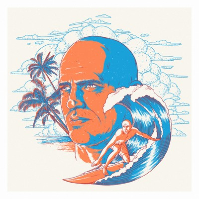 Portrait of Kelly Slater