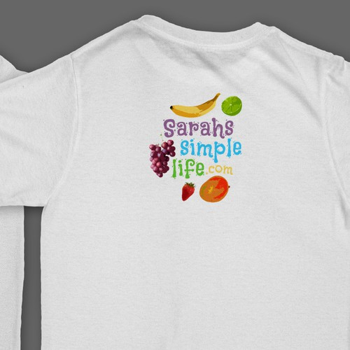Vegetarian t-shirt with the title 'T-Shirt design'