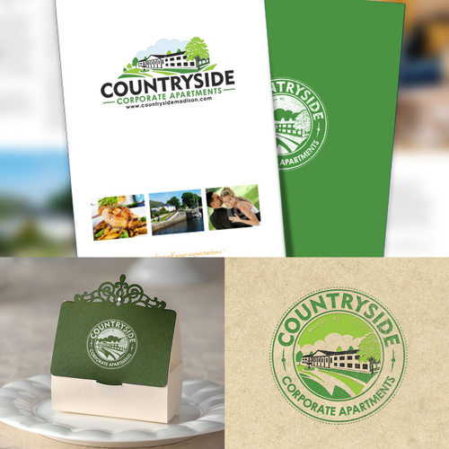 Apartment brand with the title 'Countryside'