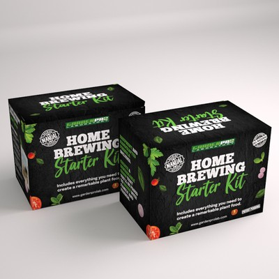 Packaging Design for Home Brewing Kit
