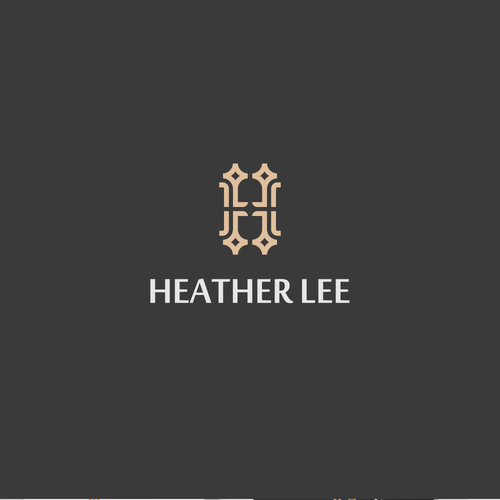 L design with the title 'Logo Concept for High-End Hangbag Brand'