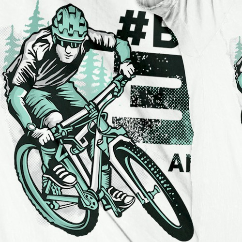 Biker t-shirt with the title 'BIKE Magazin Jubiläums T-Shirt'