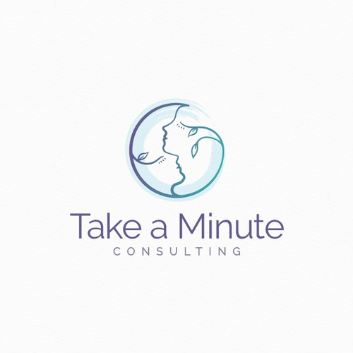 Relationship logo with the title 'Logo for a professional consultant company'