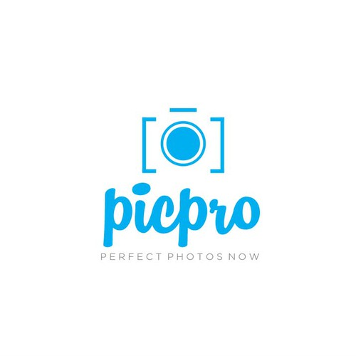 Photography logo with the title 'Modern Logo Design'
