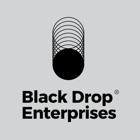 Petroleum logo with the title 'Logo for Black Drop Enterprises'