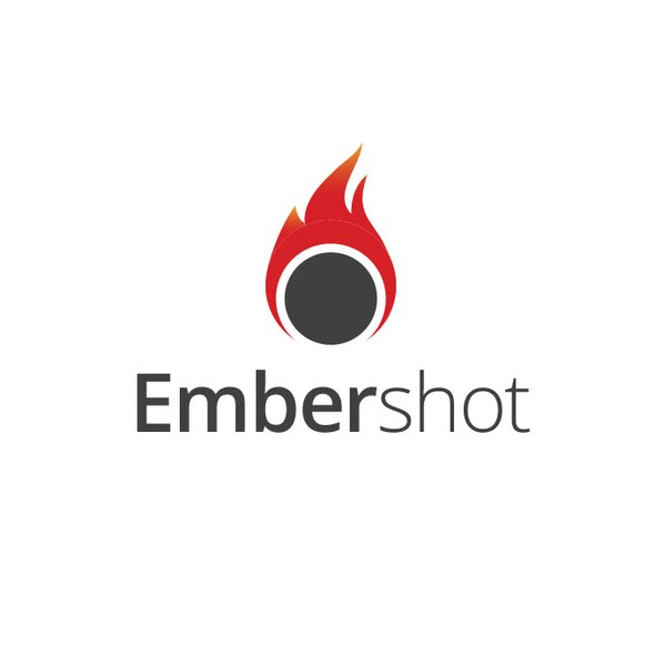 Content logo with the title 'Embershot'