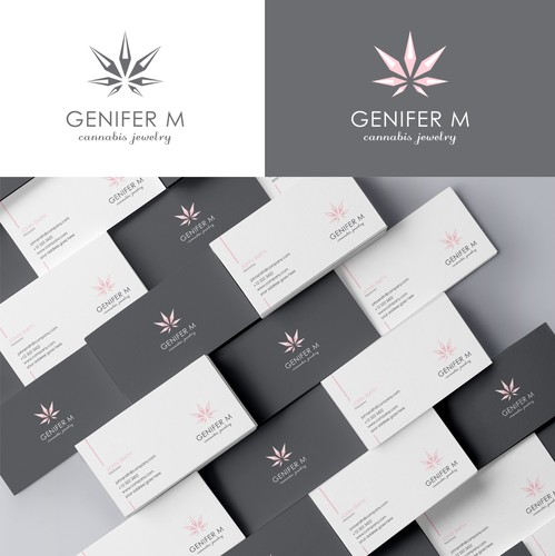 Jewelry brand with the title 'Logo for Cannabis Jewlery'