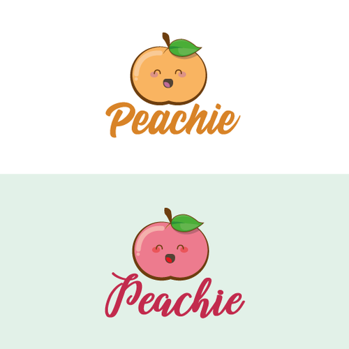 Peach logo with the title 'Peachie'