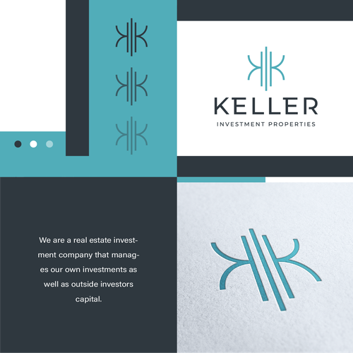 K logo with the title 'Keller Investment Properties'