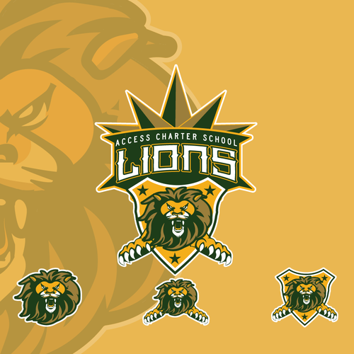 Charter logo with the title 'ACS Lions'