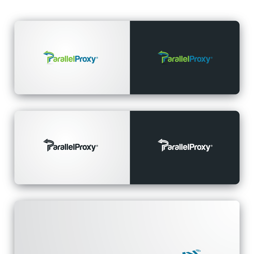 P logo with the title 'Parallel Proxy Logo'