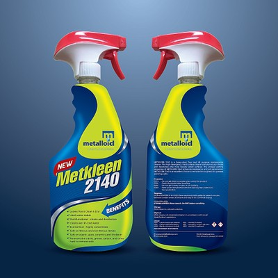 Creative Label for a Multi Purpose Cleaner