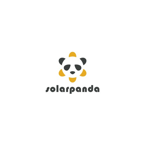 Ray design with the title 'solar panda '