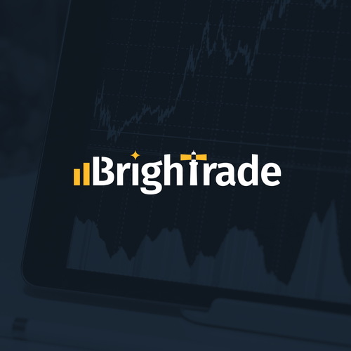 Trading logo with the title 'Logo Concept for BrighTrade'