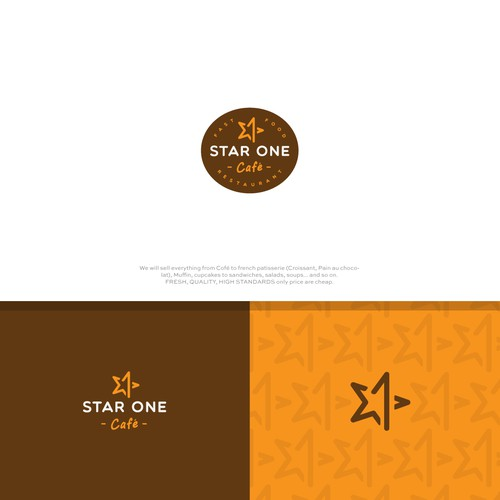 Star brand with the title 'Star One Cafe'