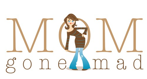 Crazy design with the title 'MOM gone MAD  needs a new logo'