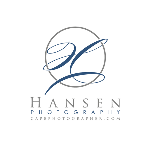 Photography logo with the title 'letter H elegant logo'