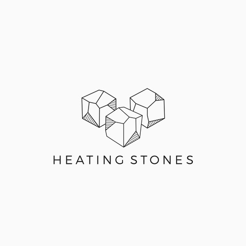 Box design with the title 'stone logo'