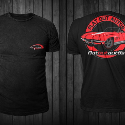 FlatOutAutos t-shirt