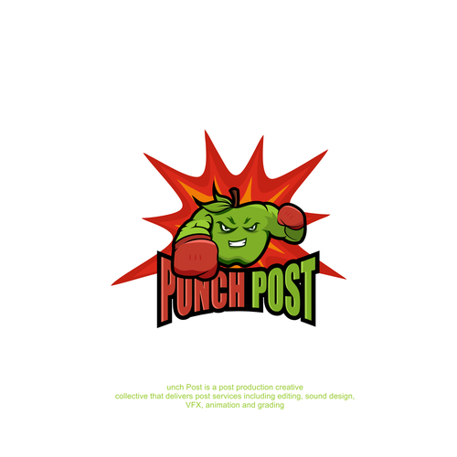 Punch logo with the title 'Punch Post Logo'