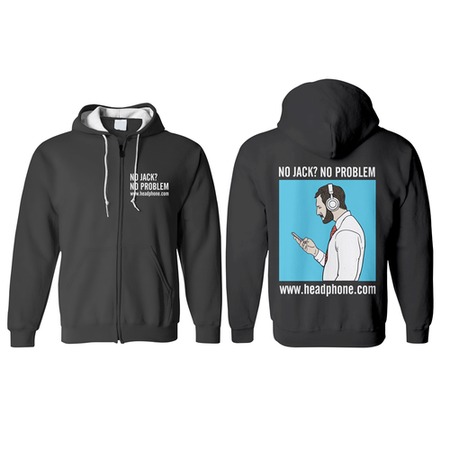 Garment design with the title 'Hoodie Design for Headphone.com'