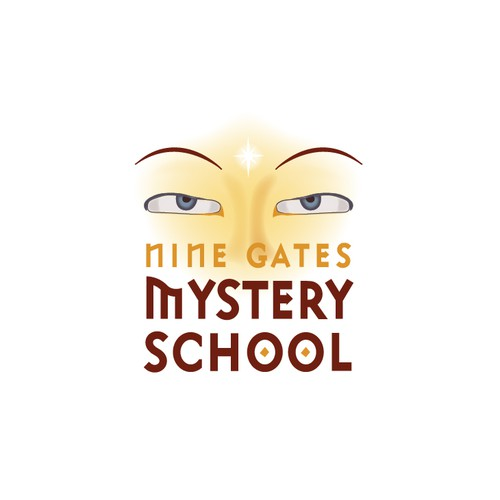 School design with the title 'Logo for an Ancient Mystery School'