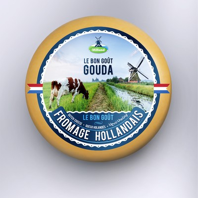 Gouda Cheese Label design
