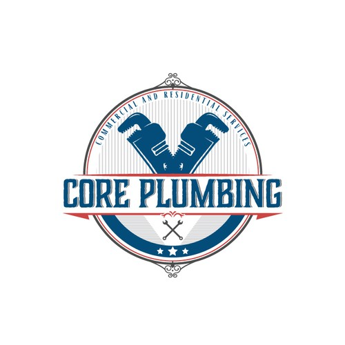 Pipe logo with the title 'Core Plumbing'